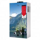 Колонка газовая дымоходная Aquatronic JSD20-AG208 10 л стекло (горы)