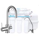 Комплект: Смеситель для кухни Imprese DAICY-U + Система обратного осмоса Ecosoft Standart, (5ти ступенчатая), 55009-U+MO550ECOSTD