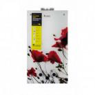 Колонка газовая дымоходная Thermo Alliance JSD20-10F2 10 л стекло, рисунок - цветок