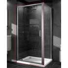 Душевая дверь Huppe X1 90x190 стекло прозрачное, распашная (140703069321)